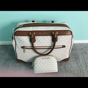 Michael Kors Large Weekender &  Pouch.